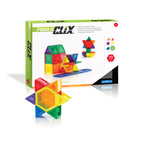 Guidecraft PowerClix® Solids  70 Piece Set - G9422 - Default Title Guidecraft Toys - Nurzery.com