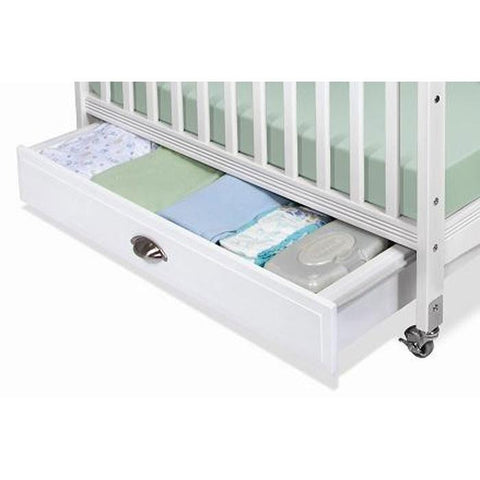 Foundations Compact Crib Drawer - fits Biltmore, Serenity & SafetyCraft cribs -  Foundations Nursery Accessories - Nurzery.com - 1