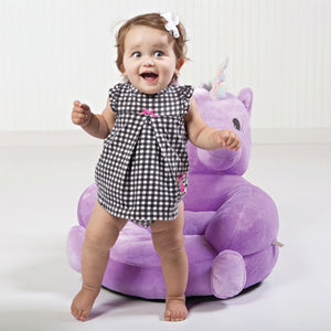 Trend Lab® - Children's Plush Unicorn Character Chair