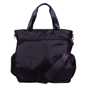 Trend Lab® - Black Tote Diaper Bag