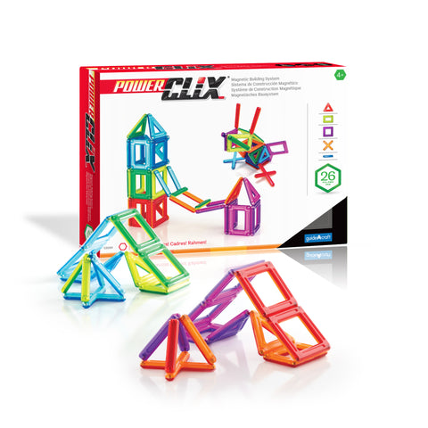 Guidecraft PowerClix® Frames  26 Piece Set - G9199 - Default Title Guidecraft Toys - Nurzery.com