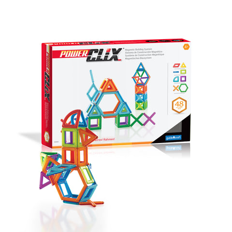 Guidecraft PowerClix® Frames 48 Piece Set - G9200 - Default Title Guidecraft Toys - Nurzery.com