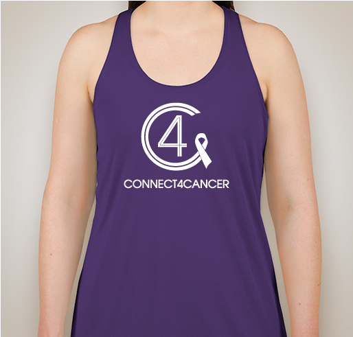 Connect4Cancer SuperGirl Tank tops Purple tank top - SOLD OUT