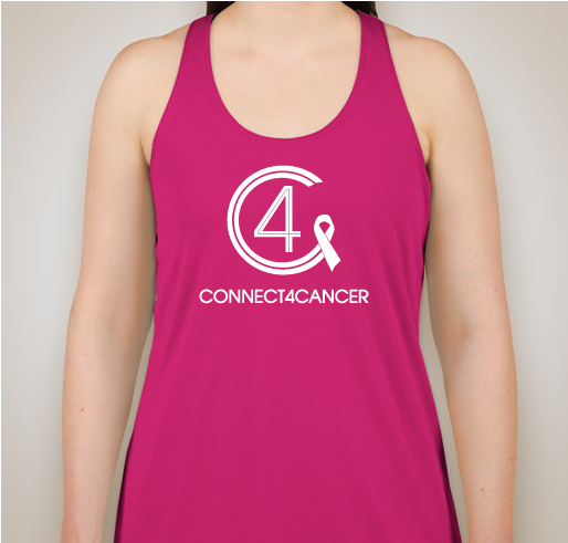 Connect4Cancer SuperGirl Tank tops Raspberry tank - SOLD OUT