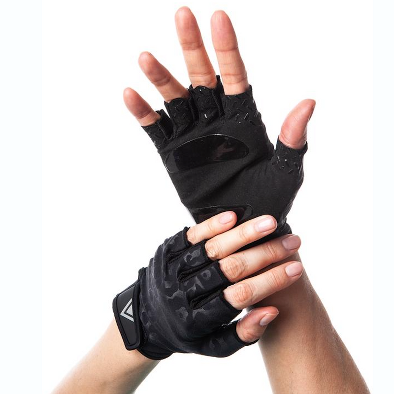 Arebesk Grip Gloves - Black Leopard