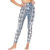 Beach Riot Blue Snake Leggings