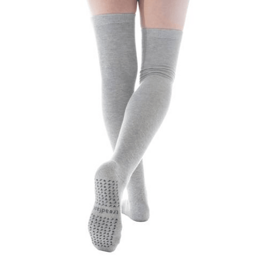 Ceanne Thigh High Grip Socks (Barre/Pilates)