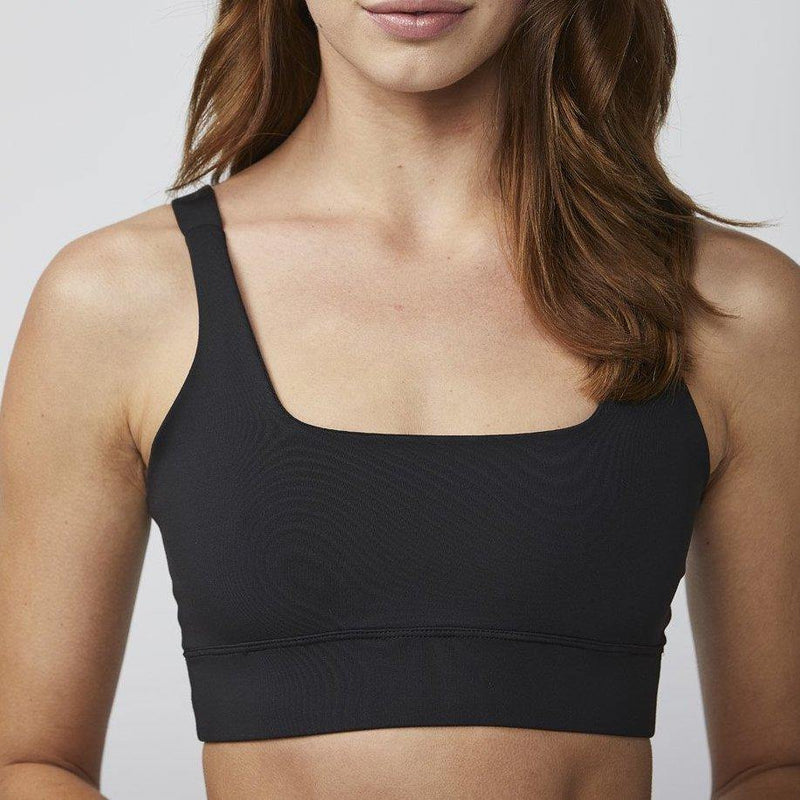 DYI Square Neck Bra Black