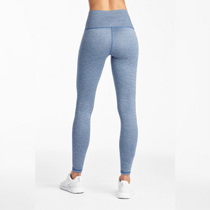 DYI Herringbone Tight Chambray and White