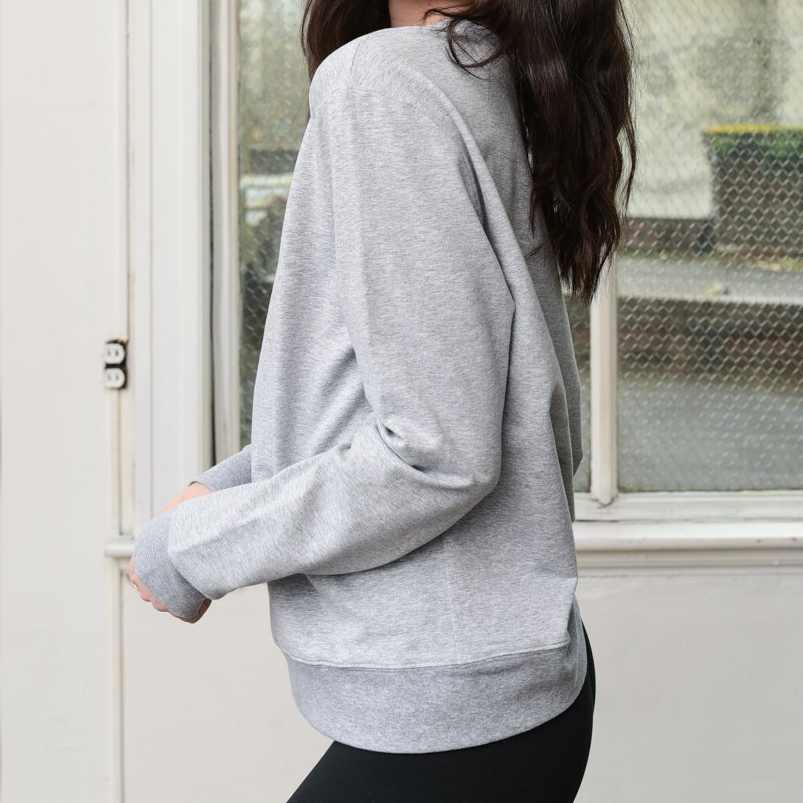 DYI Basic Crew Heather Grey