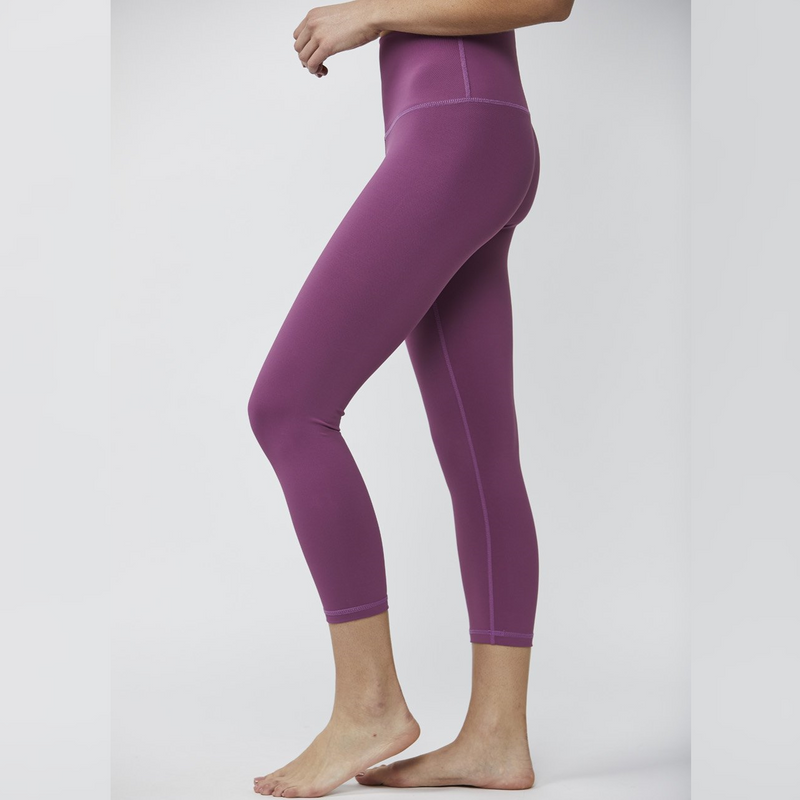 DYI Take Control Cropped Tights Dark Crocus