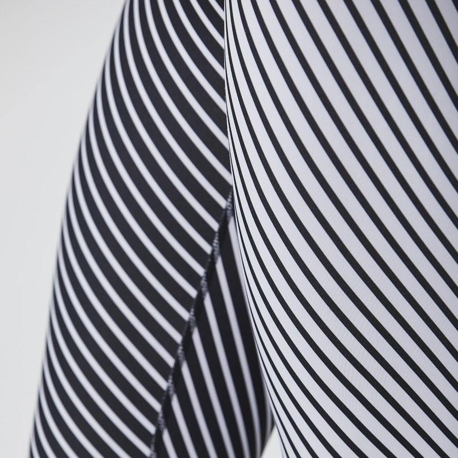 DYI Black and White Striped Mix Tight 7/8