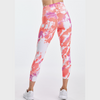 DYI Printed Signature Crop Leggings Stellar Dye