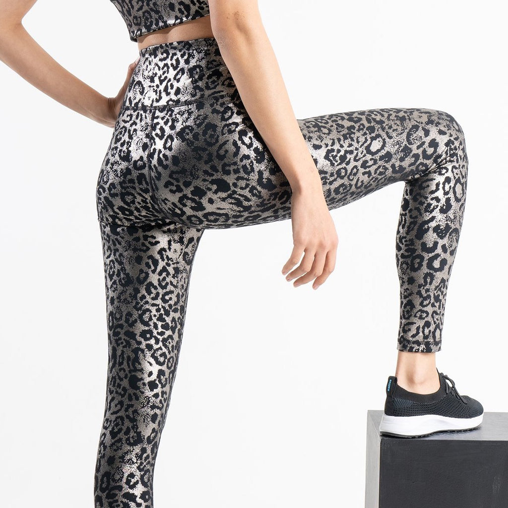 DYI signature tight edge foil taupe leopard