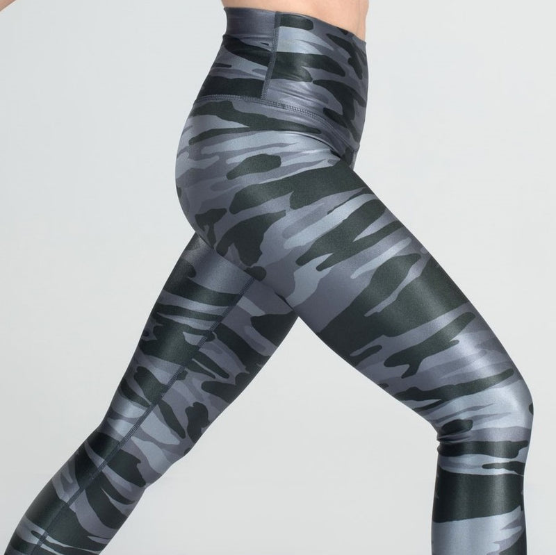 DYI High Shine Signature Tight Sharkskin Camo