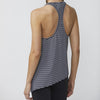 DYI Asymmetrical Flow Tank Black and White Stripe