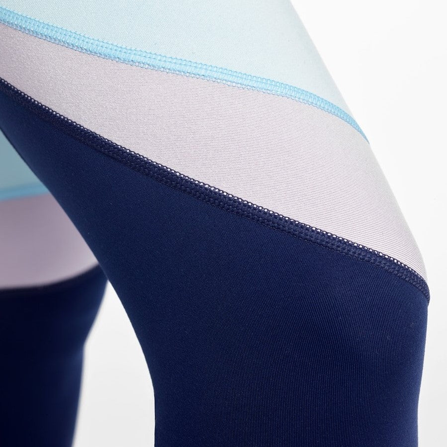 DYI Heather Mix Tight Navy Spa Blue