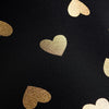 Signature Tight Gold Foil Hearts
