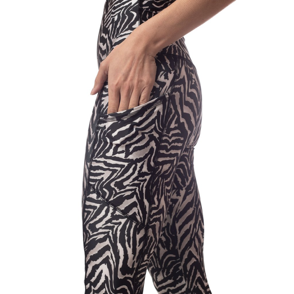 Emily Hsu Zebra Pocket Sneaker Leggings