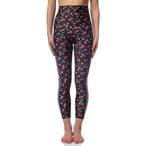 Emily Hsu Cherries 7/8th Leggings