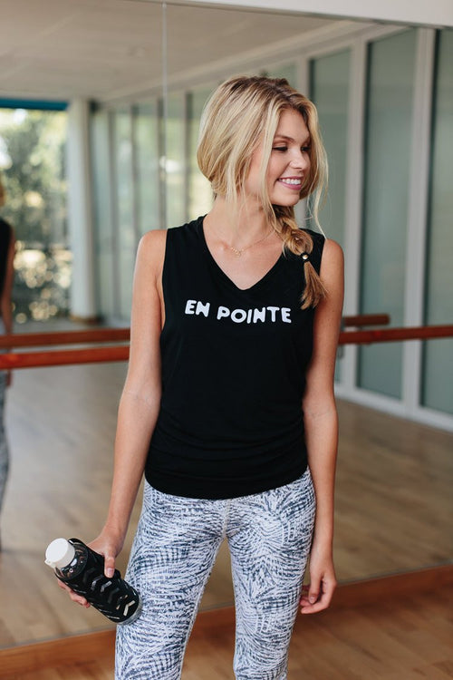 En Pointe - Muscle Tank - simplyWORKOUT