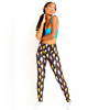 Goldsheep Neon Lightning Bolt Leggings