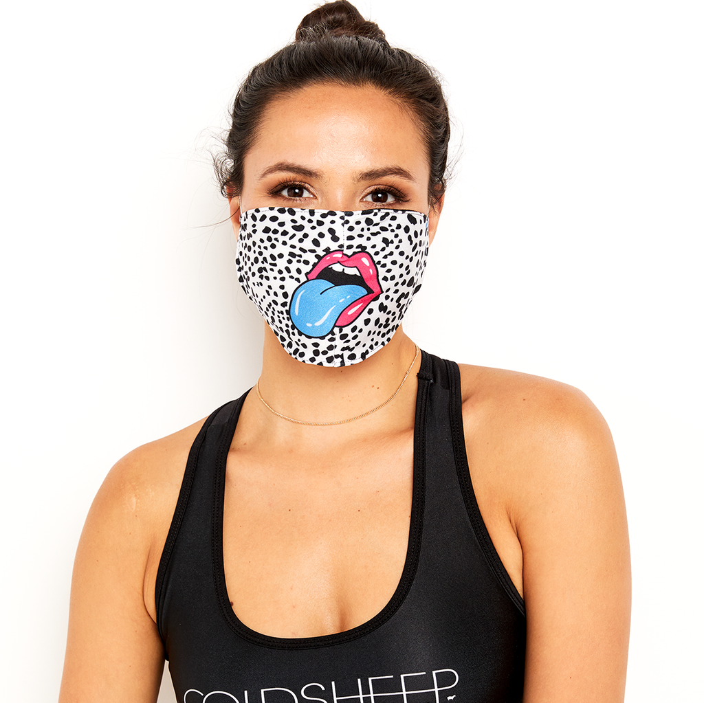 Goldsheep Face Mask Rainbow Mouth
