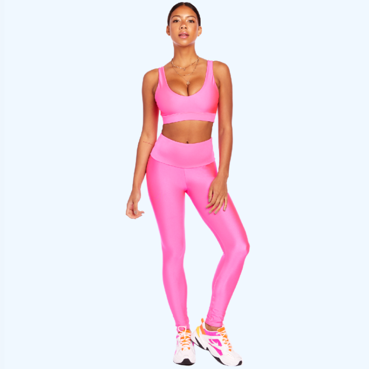 Goldsheep Basic Neon Pink Legging