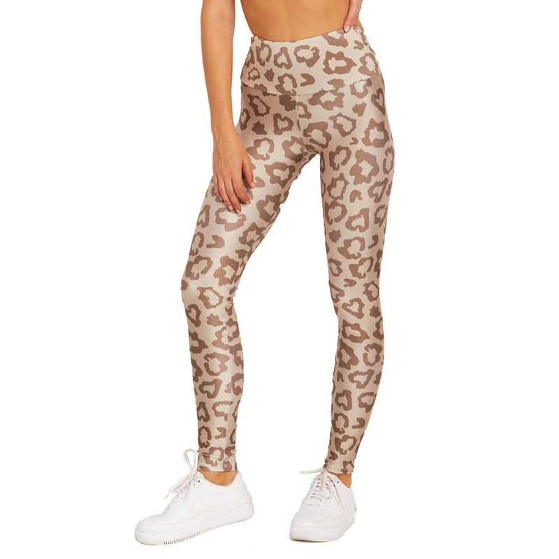 Goldsheep Tan Leopard Leggings
