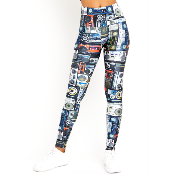 Goldsheep Boom Box Leggings