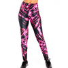 Goldsheep Pink & Black Tie Dye Leggings