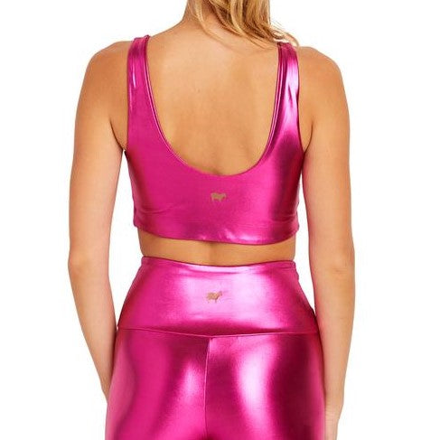 Goldsheep Metallic Neon Pink U-Bra
