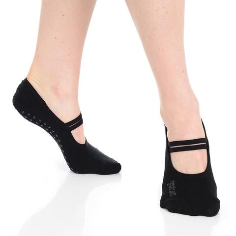 Great Soles Jules Ballet Grip Sock Black