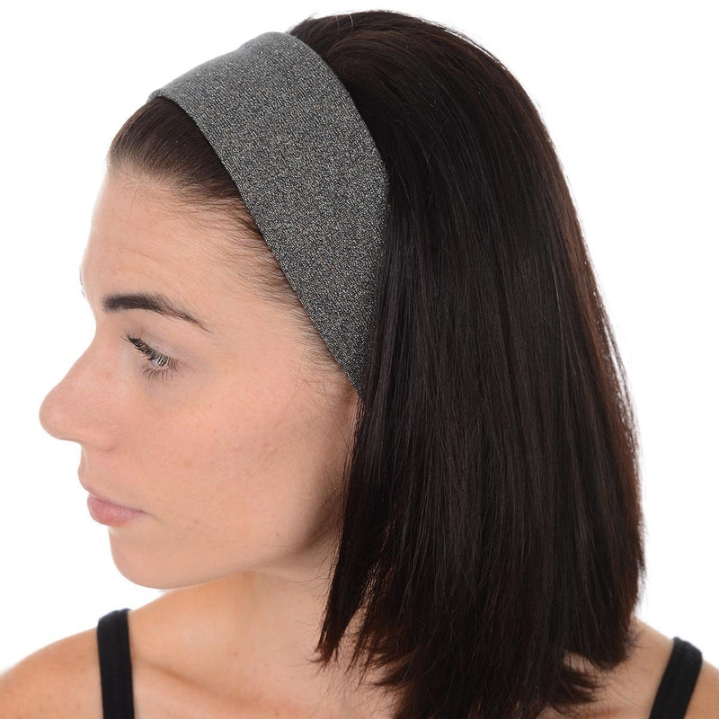Great Soles Isabella Headband Gunmetal Silver