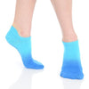 Great Soles Ombre Caribbean Blue Grip Socks