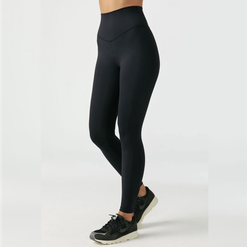 Joah Brown Second Skin Legging - Sueded Onyx