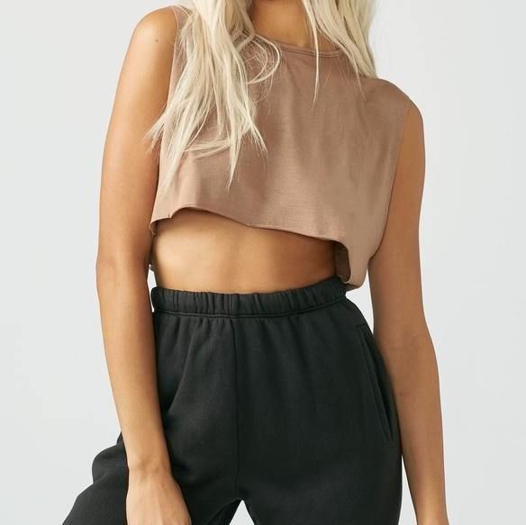 Joah Brown Sienna Cropped Muscle Tank