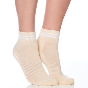 Lucky Honey The Boyfriend Tan Grip Sock