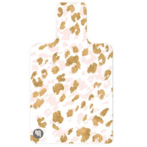 Move Active Eco Pilates Hygiene Mat Gold Cheetah