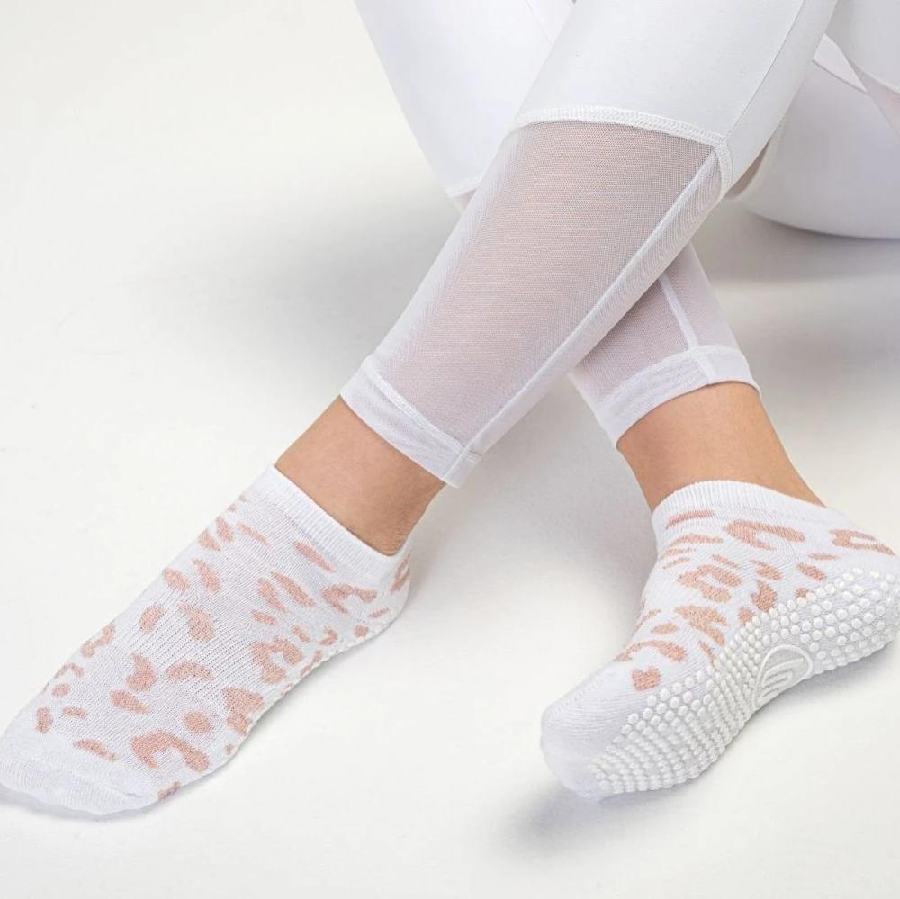 MoveActive Classic Low Rise Cheetah Sparkle Rose White