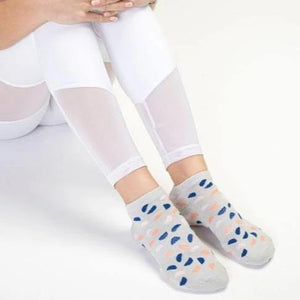 Move Active Classic Low Rise Terrazzo Grip Socks