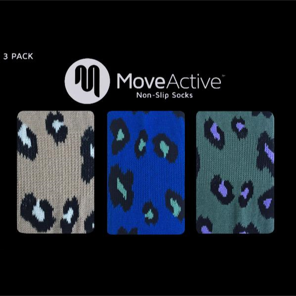Move Active Gift Box Cheetah Flash Slide On