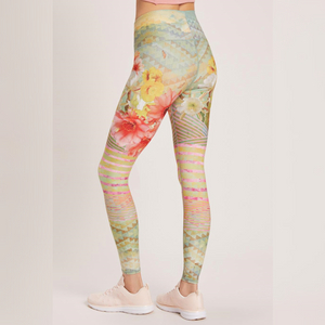 Niyama Sol Cactus Flower High Waisted Legging