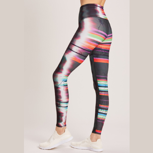 Niyama Sol LCD Glitch High Waisted Legging