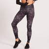 Niyama Sol Camo Barefoot Leggings Midnight