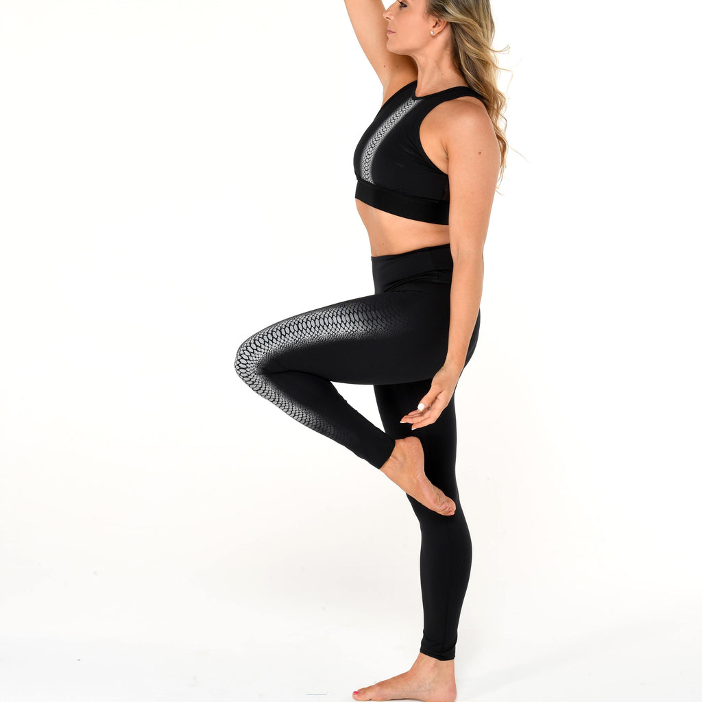 noli leggings black cobra reflective