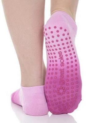 Ombre Grip Sock - Orchid (Barre / Pilates) - Great Soles