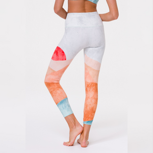 Onzie Sustainable Soul Graphic High Rise Midi Legging Hero
