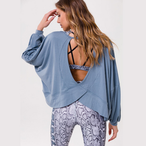 Onzie OM Long Sleeve Top Moonstone