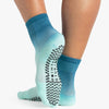 Pointe Studio Cameron Ankle Grip Sock Teal